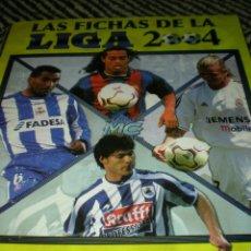 Álbum de fútbol completo: MUNDICROMO LIGA 2004 - COLECCIÓN COMPLETA. Lote 42881312