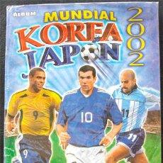 Álbum de fútbol completo: ALBUM DE CROMOS NAVARRETE MUNDIAL 2002 KOREA JAPON 02 - 100% COMPLETO. Lote 42898337