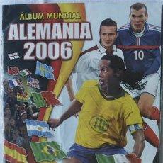 Álbum de fútbol completo: ALBUM DE CROMOS NAVARRETE MUNDIAL 2006 ALEMANIA 06 - 100% COMPLETO. Lote 42898700