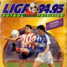 Álbum de fútbol completo: LIGA PRIMERA DIVISIÓN 1994-1995 EDICIONES ESTE ALBUM COMPLETO. Lote 43020070