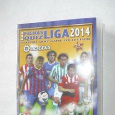 Álbum de fútbol completo: COLECCION COMPLETA CON ARCHIVADOR ORIGINAL MUNDICROMO 2013-2014 QUIZ GAME 13-14 (TOPS MISMO COLOR. Lote 43038510