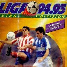 Álbum de fútbol completo: ALBUM FUTBOL, LIGA 1994 1995 94 95 , ESTE , COMPLETO , VER FOTOS , ORIGINAL ,H. Lote 43058290