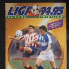 Álbum de fútbol completo: ALBUM FUTBOL LIGA 94-95 COMPLETO EDICIONES ESTE . Lote 43083273