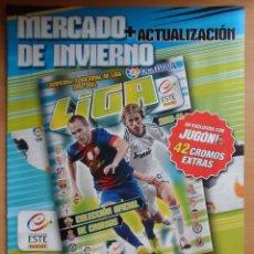 Álbum de fútbol completo: ++ ÁLBUM FÚTBOL - COMPLETO 42 CROMOS (MERCADO INVIERNO) - LIGA ESTE 2013-2014 - LEER DESCRIPCIÓN. Lote 43258026
