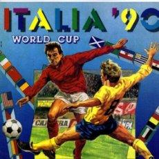 Álbum de fútbol completo: PANINI COPA DEL MUNDO ITALIA 1990 REPRODUCCION ALBUM CROMOS COMPLETO IMPECABLE. Lote 43283294