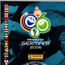 Álbum de fútbol completo: PANINI COPA DEL MUNDO ALEMANIA 2006 REPRODUCCION ALBUM CROMOS COMPLETO IMPECABLE. Lote 43321563