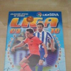 Álbum de fútbol completo: ÁLBUM COMPLETO EDICIONES ESTE LIGA 2009-10 - 09/10 (NUEVO). Lote 43358513