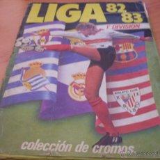 Álbum de fútbol completo: LIGA 82 83 ESTE .ALBUM COMPLETO. UN CROMO POR CASILLA (ALB-1). Lote 43378242