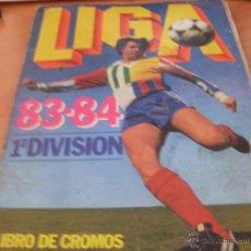 Álbum de fútbol completo: LIGA 83 - 84 ESTE COMPLETO. 383 CROMOS (ALB5). Lote 43428368