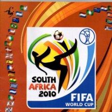 Álbum de fútbol completo: PANINI COPA DEL MUNDO SUDAFRICA 2010 REPRODUCCION ALBUM CROMOS COMPLETO IMPECABLE. Lote 43429509