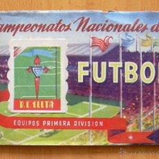 Álbum de fútbol completo: CELTA DE VIGO - RUIZ ROMERO LIGA 1950-1951, 50-51 - CON 21 CROMOS. Lote 43494484