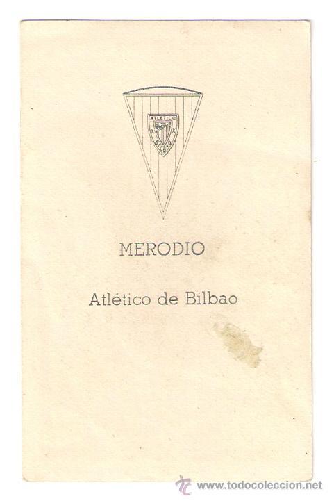 Álbum de fútbol completo: MERODIO , ATHLETIC DE BILBAO,FUTBOL CAMPEONATO NACIONAL 1960-1961, EDICIONES FERCA 60-61 - Foto 2 - 43582644