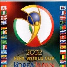 Álbum de fútbol completo: PANINI COPA DEL MUNDO KOREA JAPON 2002 REPRODUCCION ALBUM CROMOS COMPLETO IMPECABLE. Lote 44421932