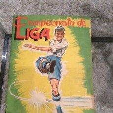 Álbum de fútbol completo: ALBUM CAMPEONATO LIGA 61-62 COMPLETO. Lote 43776023
