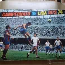 Álbum de fútbol completo: FHER 73 74 1973 1974 ALBUM COMPLETO POSTER CENTRAL COMPLETO. Lote 43809718