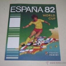 Caderneta de futebol completa: PANINI COPA MUNDIAL ESPAÑA 82 - 1982 OFFICIAL ALBUM REPRINT - 100% COMPLETE!. Lote 157973520