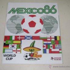 Caderneta de futebol completa: PANINI COPA MUNDIAL MEXICO 86 - 1986 OFFICIAL ALBUM REPRINT - 100% COMPLETE!. Lote 172033600
