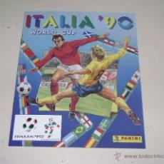 Álbum de fútbol completo: PANINI COPA MUNDIAL ITALIA 90 - 1990 ALBUM FASCIMIL - 100% COMPLETE!. Lote 125245754