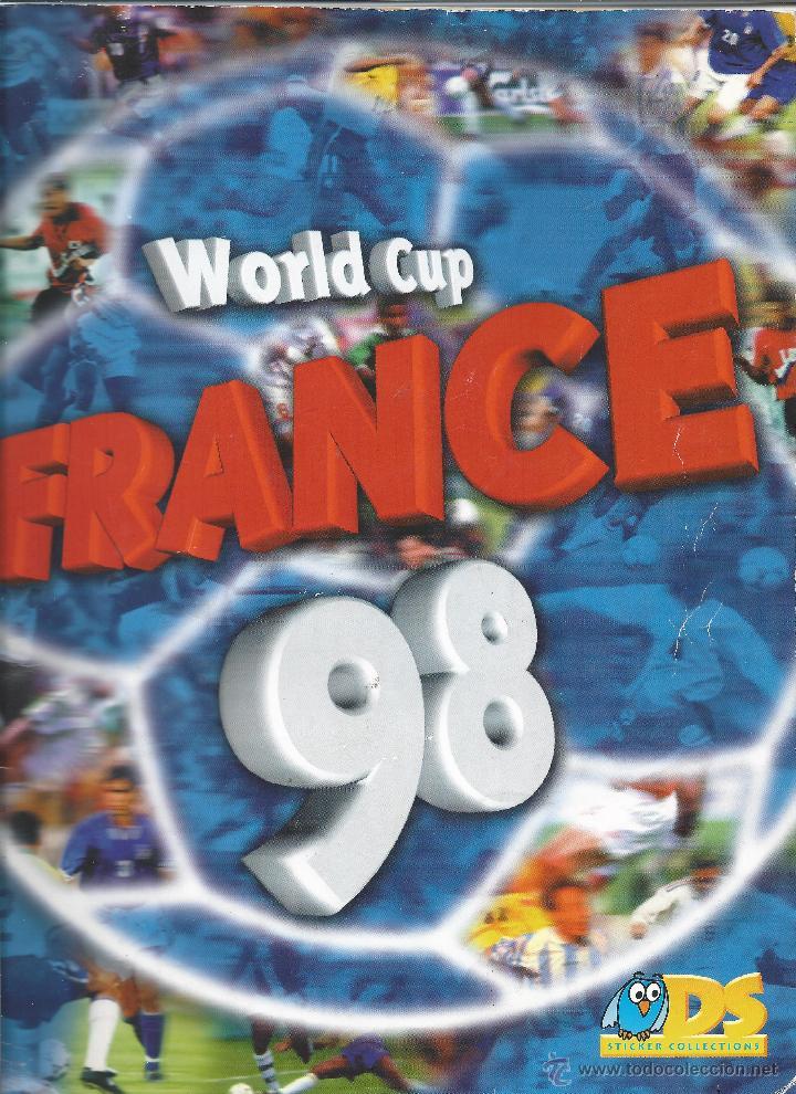 3743A- ALBUM COMPLETO FRANCE 98 WORLD CUP (Coleccionismo Deportivo - Álbumes y Cromos de Deportes - Álbumes de Fútbol Completos)
