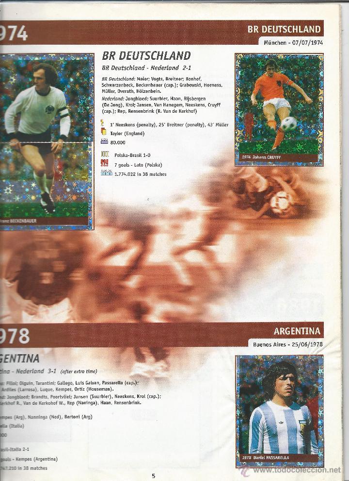 Álbum de fútbol completo: 3743A- ALBUM COMPLETO FRANCE 98 WORLD CUP - Foto 3 - 44177810