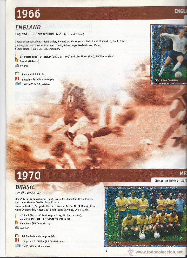 Álbum de fútbol completo: 3743A- ALBUM COMPLETO FRANCE 98 WORLD CUP - Foto 4 - 44177810