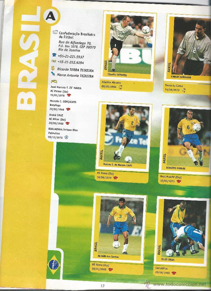 Álbum de fútbol completo: 3743A- ALBUM COMPLETO FRANCE 98 WORLD CUP - Foto 6 - 44177810