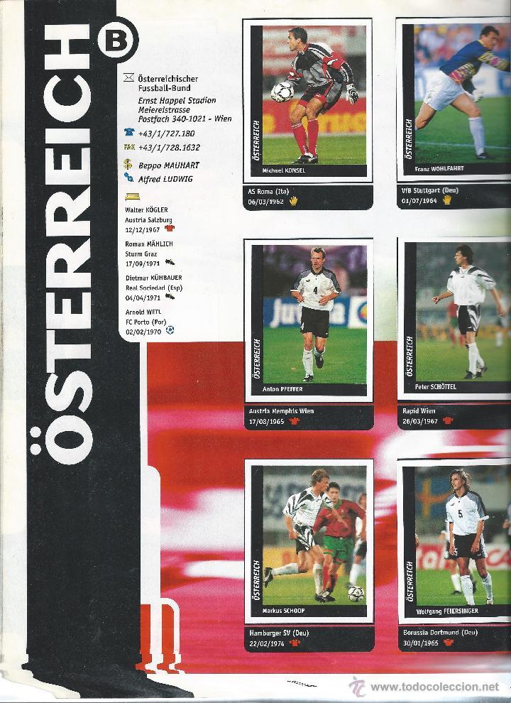 Álbum de fútbol completo: 3743A- ALBUM COMPLETO FRANCE 98 WORLD CUP - Foto 7 - 44177810