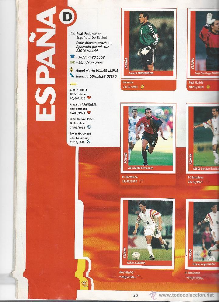 Álbum de fútbol completo: 3743A- ALBUM COMPLETO FRANCE 98 WORLD CUP - Foto 8 - 44177810