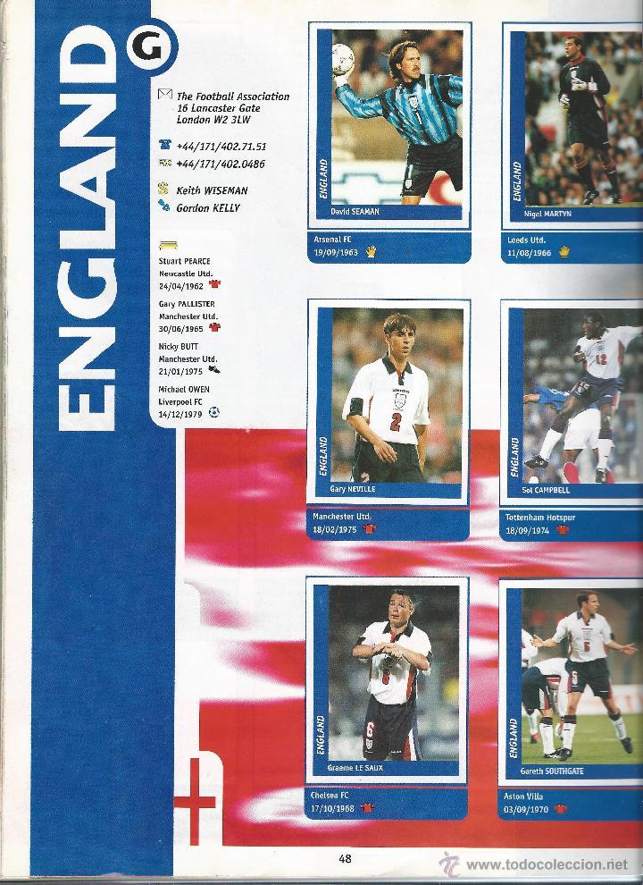 Álbum de fútbol completo: 3743A- ALBUM COMPLETO FRANCE 98 WORLD CUP - Foto 9 - 44177810