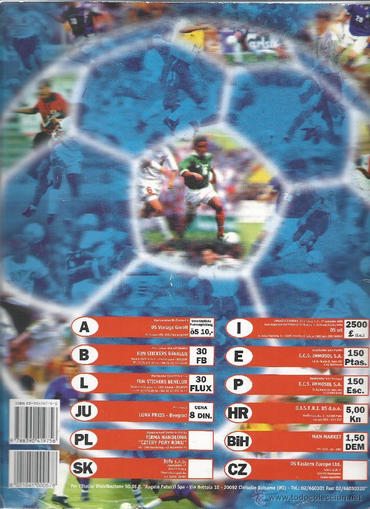 Álbum de fútbol completo: 3743A- ALBUM COMPLETO FRANCE 98 WORLD CUP - Foto 10 - 44177810