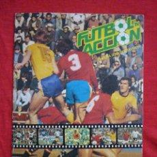 Álbum de fútbol completo: ALBUM DE CROMOS-''FUTBOL EN ACCIÓN'' (DANONE, 1981),COMPLETO,CROMOS BIEN PEGADOS, BUEN ESTADO. Lote 44188050