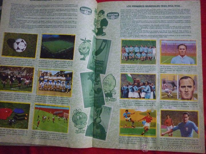 Álbum de fútbol completo: ALBUM DE CROMOS-''FUTBOL EN ACCIÓN'' (DANONE, 1981),COMPLETO,CROMOS BIEN PEGADOS, BUEN ESTADO - Foto 2 - 44188050