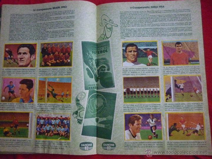 Álbum de fútbol completo: ALBUM DE CROMOS-''FUTBOL EN ACCIÓN'' (DANONE, 1981),COMPLETO,CROMOS BIEN PEGADOS, BUEN ESTADO - Foto 3 - 44188050