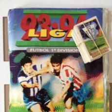 Álbum de fútbol completo: ALBUM DE CROMOS EDICIONES ESTE LIGA TEMPORADA 1993 1994 93 94 CON CROMOS DE CARTÓN. Lote 24247076