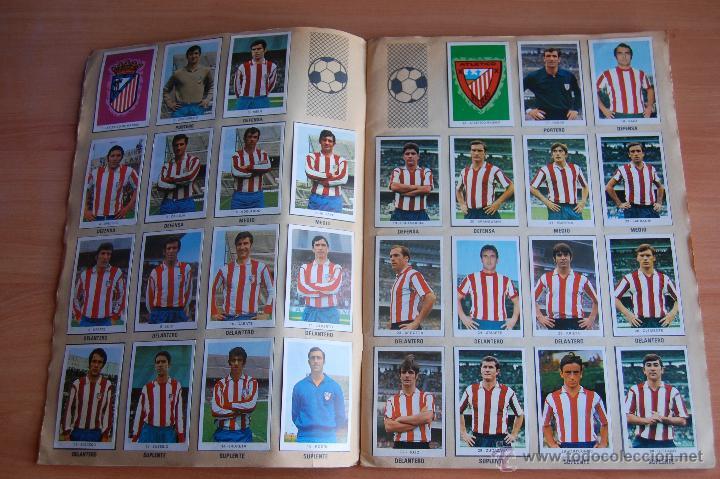 Álbum de fútbol completo: ALBUM CROMOS COMPLETO+ 9 DOBLES +RAREZA CAMPEONATOS NACIONALES DE FUTBOL 1970-1971 70-71 RUIZ ROMERO - Foto 2 - 44478580