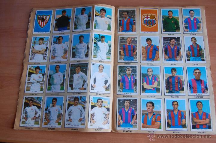Álbum de fútbol completo: ALBUM CROMOS COMPLETO+ 9 DOBLES +RAREZA CAMPEONATOS NACIONALES DE FUTBOL 1970-1971 70-71 RUIZ ROMERO - Foto 3 - 44478580