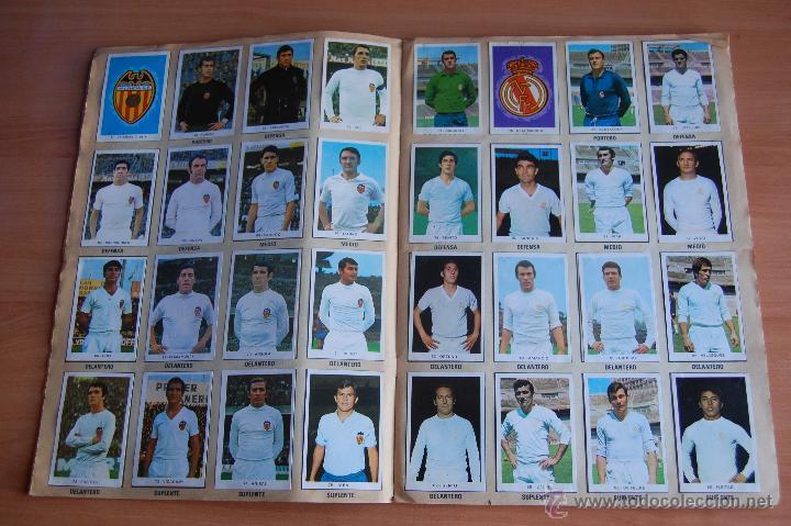 Álbum de fútbol completo: ALBUM CROMOS COMPLETO+ 9 DOBLES +RAREZA CAMPEONATOS NACIONALES DE FUTBOL 1970-1971 70-71 RUIZ ROMERO - Foto 4 - 44478580