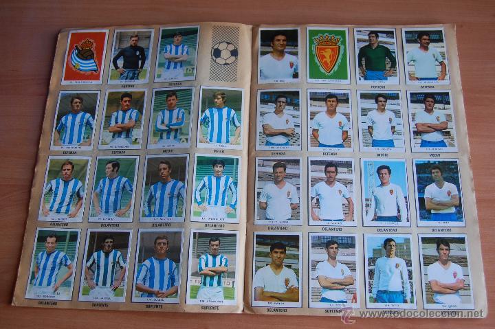 Álbum de fútbol completo: ALBUM CROMOS COMPLETO+ 9 DOBLES +RAREZA CAMPEONATOS NACIONALES DE FUTBOL 1970-1971 70-71 RUIZ ROMERO - Foto 5 - 44478580