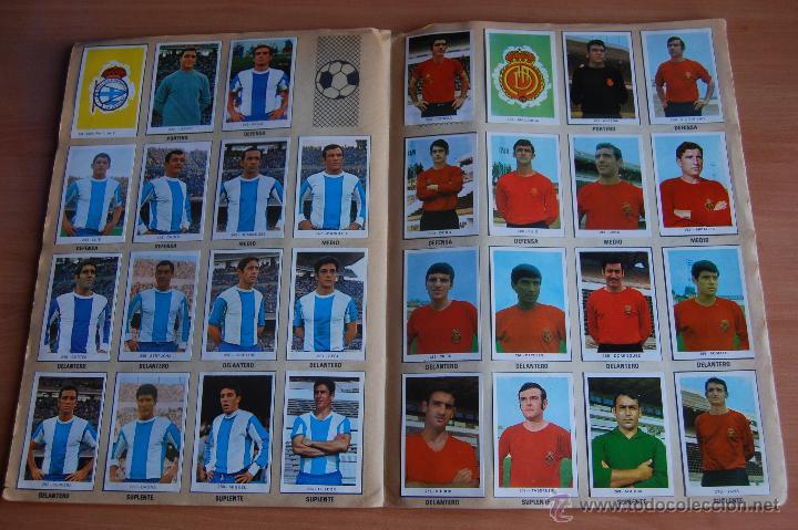 Álbum de fútbol completo: ALBUM CROMOS COMPLETO+ 9 DOBLES +RAREZA CAMPEONATOS NACIONALES DE FUTBOL 1970-1971 70-71 RUIZ ROMERO - Foto 6 - 44478580