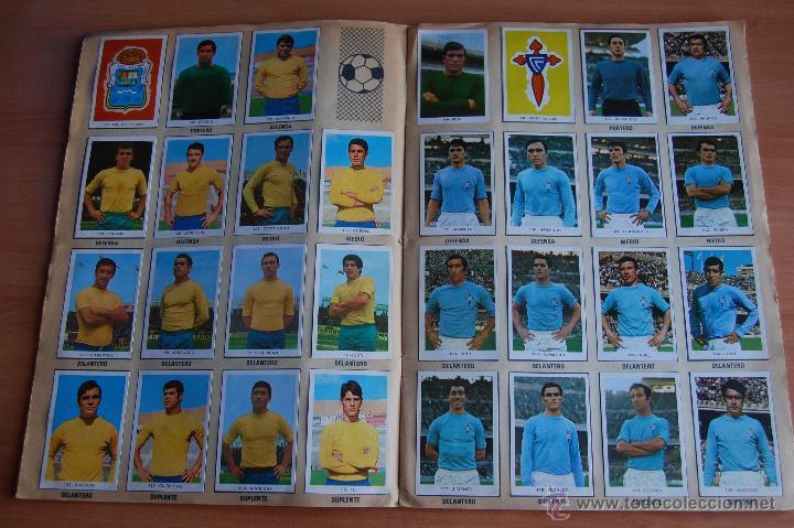 Álbum de fútbol completo: ALBUM CROMOS COMPLETO+ 9 DOBLES +RAREZA CAMPEONATOS NACIONALES DE FUTBOL 1970-1971 70-71 RUIZ ROMERO - Foto 7 - 44478580