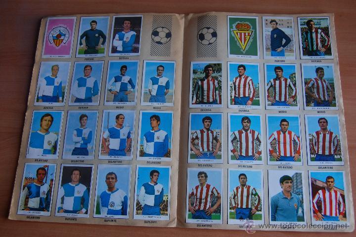 Álbum de fútbol completo: ALBUM CROMOS COMPLETO+ 9 DOBLES +RAREZA CAMPEONATOS NACIONALES DE FUTBOL 1970-1971 70-71 RUIZ ROMERO - Foto 9 - 44478580