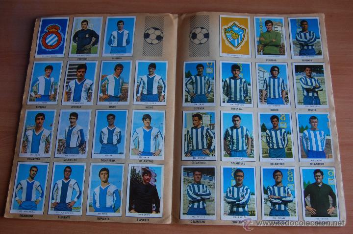 Álbum de fútbol completo: ALBUM CROMOS COMPLETO+ 9 DOBLES +RAREZA CAMPEONATOS NACIONALES DE FUTBOL 1970-1971 70-71 RUIZ ROMERO - Foto 10 - 44478580