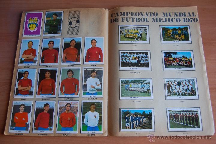 Álbum de fútbol completo: ALBUM CROMOS COMPLETO+ 9 DOBLES +RAREZA CAMPEONATOS NACIONALES DE FUTBOL 1970-1971 70-71 RUIZ ROMERO - Foto 11 - 44478580