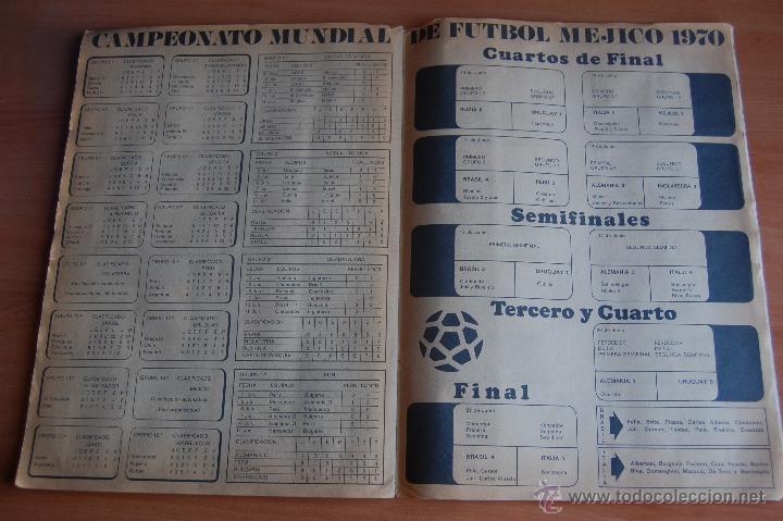 Álbum de fútbol completo: ALBUM CROMOS COMPLETO+ 9 DOBLES +RAREZA CAMPEONATOS NACIONALES DE FUTBOL 1970-1971 70-71 RUIZ ROMERO - Foto 12 - 44478580