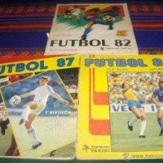 Álbum de fútbol completo: FUTBOL 83, 87 Y 88 COMPLETO Y DE REGALO FÚTBOL 82 Y 88. PANINI.. Lote 44812576