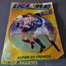 Álbum de fútbol completo: ALBUM LIGA 94-95 EDICIONES ESTE. COMPLETO. Lote 45313373