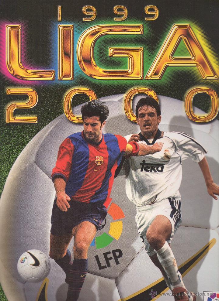 LIGA 1999/2000 LFP COLECCIONES ESTE (Coleccionismo Deportivo - Álbumes y Cromos de Deportes - Álbumes de Fútbol Completos)