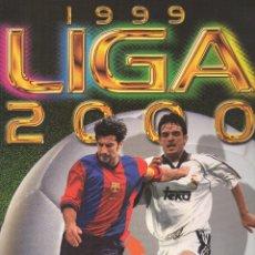 Álbum de fútbol completo: LIGA 1999/2000 LFP COLECCIONES ESTE. Lote 45343281