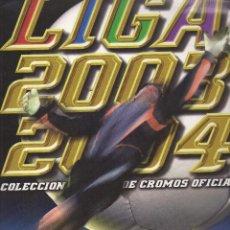Álbum de fútbol completo: LIGA 2003/2004 COLECCION DE CROMOS OFICIAL LFP. Lote 45343320