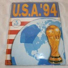 Álbum de fútbol completo: CAMPEONATO MUNDIAL USA 94 ORIGINAL COMPLETO. Lote 45393181